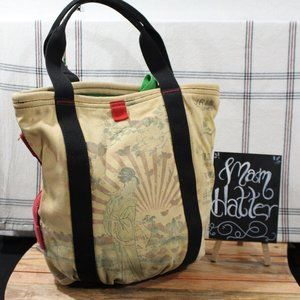 Lucky Brand Canvas Tote Oriental